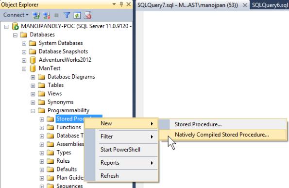 SQLServer2014HekatonSPs
