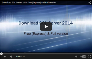 SQL Server 2014 Download