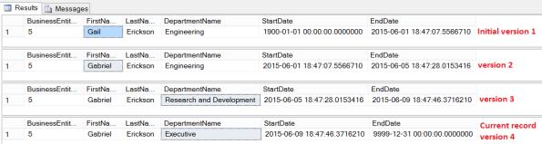 SQL Server 2016 Temporal 10