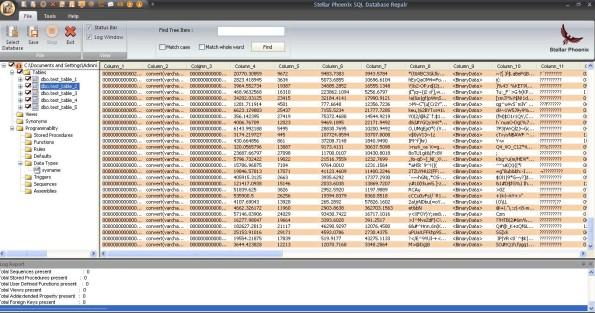 Stellar Phoenix SQL Database Repair 3