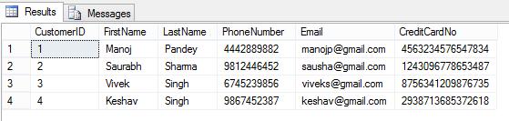SQLServer2016 - DDM 01