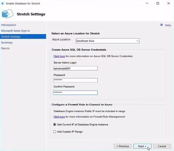 SQL Server 2016 - StretchDB 03