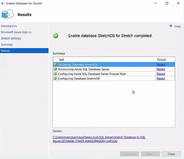 SQL Server 2016 - StretchDB 04
