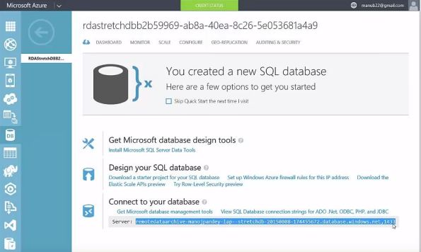 SQL Server 2016 - StretchDB 06