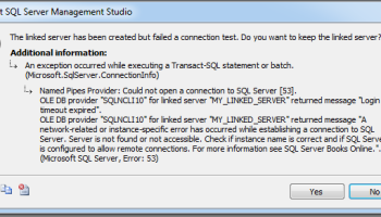 SQL Server 2012 does not support Linked Server to SQL Server 2000