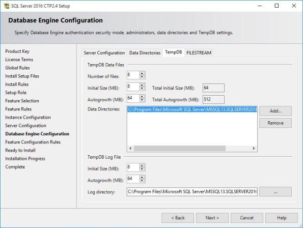 SQL Server 2016 CTP 2.4 Setup 02