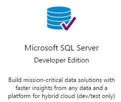 SQL Server 2014 Dev Ed free