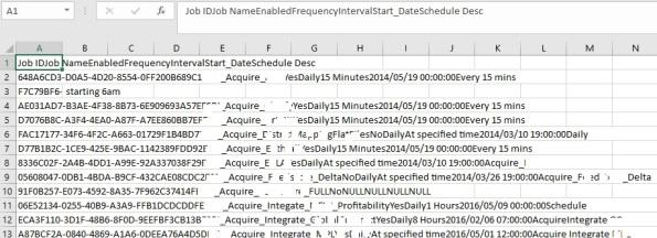 Excel vs SSMS 01