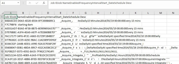 Excel pasting dataset in single column, copied from SSMS Results