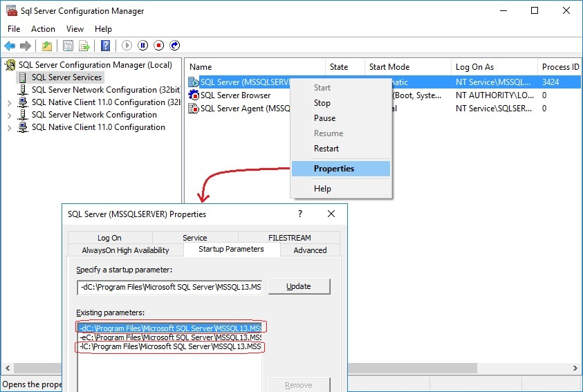 Sql Dba Move Master Database To Another Drive In Simple Steps