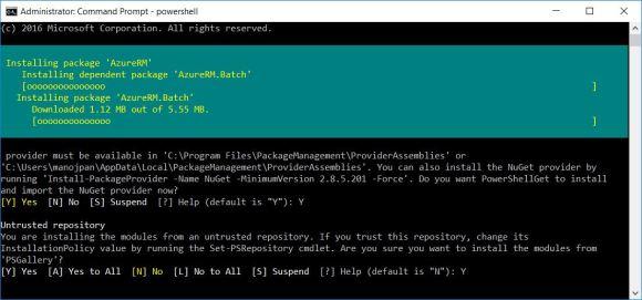 Powershell error – The term 'Login-AzureRmAccount' is not
