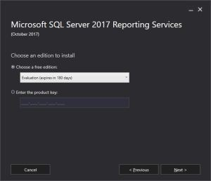 Download Install Sql Server Reporting Services Ssrs 2017 Decoupled From Sql Server Engine Setup Sql With Manoj