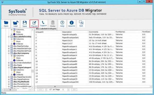 SysTools SQL Azure Migration 01
